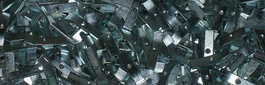 Particolari a rotobarile zincati bianco